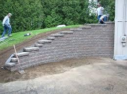 how to build a concrete retaining wall u2013 salmaun me