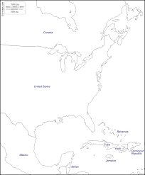 Blank Civil War Map by Free Printable Maps Of The Northeastern Us East Coast Of The