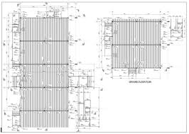Typical Floor Framing Plan by Structural Steel Detailing Projects Structural Design Services