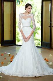 trumpet sleeve wedding dress turmec wedding dresses with sleeves and trains