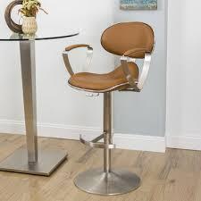 adjustable height swivel bar stool u0026 reviews allmodern