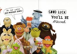 the muppets sorry you re leaving card cards kates
