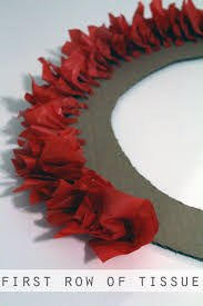 best 25 tissue paper wreaths ideas on pinterest diy decorations