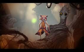 marvel u0027s rocket raccoon u0026 groot animation test trailer