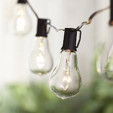 Vintage Outdoor Lights Vintage Edison Bulb Outdoor String Lights In Lighting Reviews