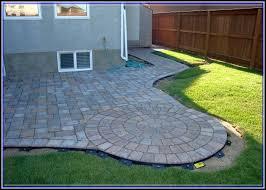 Backyard Tiles Ideas Interlocking Patio Tiles Over Grass Patios Home Decorating