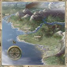 Forgotten Realms Map Image Sword Coast North2 Jpg Forgotten Realms Wiki Fandom