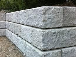 4ft concrete retaining wall blocks hamilton oakville grimsby
