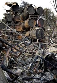 Wildfire Sports Car Value by Vintners Inspect Grapes Check Buildings After Wildfires The