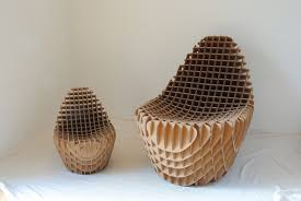 Home Decoration Stuff Decorations Amazing Recycled Cardboard Chair Home Decoration