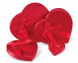 heart shaped candy satin heart shaped candy boxes box and wrap