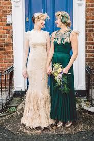 feather wedding dress 31 feather wedding dresses that wow happywedd