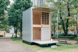 home design nj espoo muji unveils trio of tiny prefab homes that can pop up almost