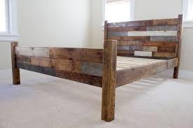 Build Wooden Bed Frame Diy Wood Bed Frame Sorrentos Bistro Home