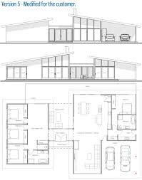 modern house plan ch286 house plan
