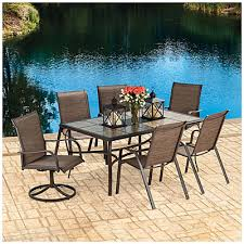 Wilson And Fisher Wicker Patio Furniture Wilson U0026 Fisher Sanibel 7 Piece Dining Set At Big Lots For The
