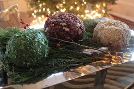 running of the lighted christmas cheese balls u2013 mod meals on
