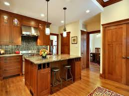 arts and crafts style kitchen craftsman style kitchens in small