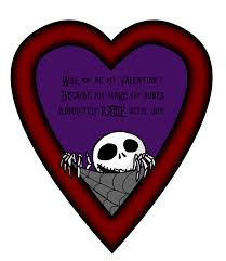 nightmare before christmas valentines by crazy control on deviantart