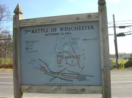 Winchester Virginia Map by Battle Of Winchester Union Confederate Army Position Map