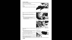 honda atc 350x service manual 2of2 youtube