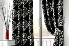 Curtains Black And Red Curtains Grey And White Kitchen Curtains Sensational Gray And
