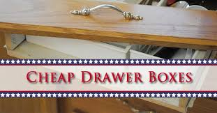 cheap drawer boxes premade custom kitchen dc drawers