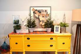 Buffet Table Decor by Jessica Stout Design Holiday Decorating Day 2 Decorating A