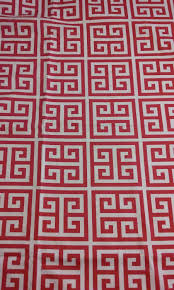 Pink Home Decor Fabric Home Decor Fabric Pink Greek Key Fabric Remnant Premier