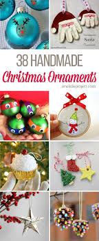 38 easy handmade ornaments handmade