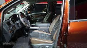nissan trucks interior gasoline powered 2016 nissan titan pickup trucks coming next year