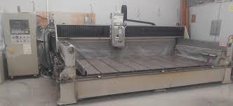 cnc machining centers new and used stone fabrication machinery
