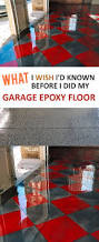 best 25 diy garage ideas on pinterest diy garage storage what i wish i d known before i did my garage epoxy floor 1