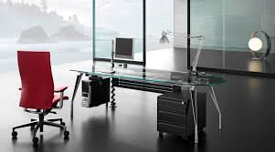 Black Metal And Glass Computer Desk by Extraordinary 90 Contemporary Glass Office Desk Design Ideas Of
