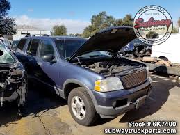 used parts 2003 ford explorer xlt 4x4 4 0l v6