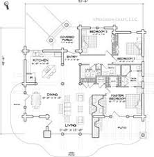 Log Cabin Homes Floor Plans Elevated Log Cabin Floor Plan I Like The French Doors From The