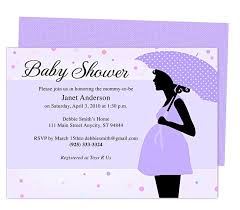 baby shower invitation templates for word plumegiant com