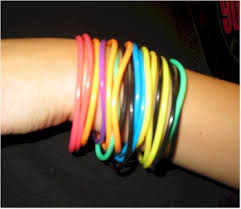 80s jewelry and accessories rubber bracelets backward glances