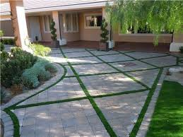 Backyard Landscaping Cost Estimate Best 25 Paver Driveway Cost Ideas On Pinterest Cost Of Concrete