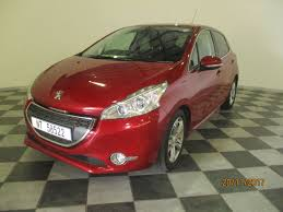 peugeot 208 trunk used peugeot 208 1 6 allure 5dr for sale