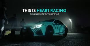 lexus is commercial motorcycle the lexus heartbeat car youtube