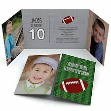 end zone football birthday party theme bigdotofhappiness com