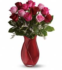 a dozen roses teleflora s say i you bouquet dozen roses in sterling va