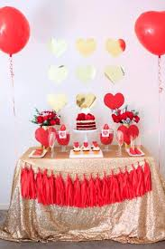 Valentine S Day Party Decor by Valentines Day Party Supplies Lifes Little Celebration