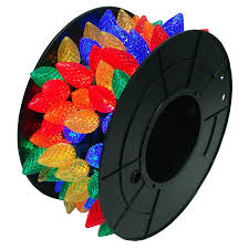 shop 100 count 49 ft constant multicolor c9 led in