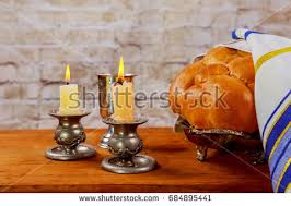shabat candles shabbat candles stock images royalty free images vectors