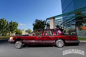 Lincoln Town Car Pictures 1994 Lincoln Town Car Lowrider Magazine