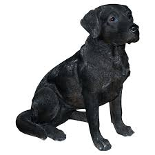 black lab garden ornaments black labrador garden ornaments