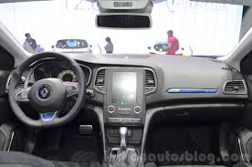 renault megane estate 2016 renault megane estate gt dashboard at the 2016 geneva motor