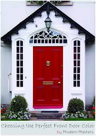 tips u0026 tools for choosing the perfect front door color modern